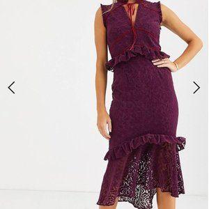 Hope and Ivy midi dress